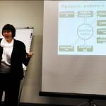 Екатерина Егорова на семинаре КП