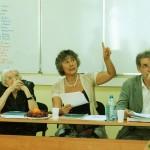 об успехах кафедры и выпускников рассказыват Нина Юрьевна Беляева