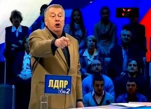 Владимир Жириновский в теледебатах