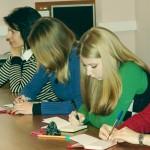 Студенты МГЛУ на лекции Минтусова