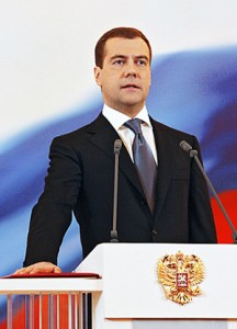 Медведев, 2008 год