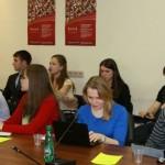 Студенты МГИМО на заседании GR-клуба