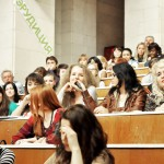 студенты журфака ВГУ на лекции Игоря Минтусова