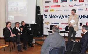 Игорь Минтусов на Международном PR-фестивале в Украине