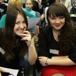 Всегда позитивные участницы из Вологды