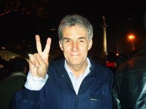Игорь Минтусов на площади Бастилии 6 мая 2012
