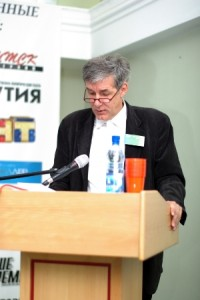 """Игорь Минтусов на """"Днях PR в Якутии"""", 2009 год"""