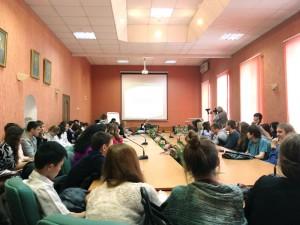 Лекция Игоря Минтусов в МГГУ