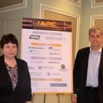 Екатерина Егорова и Игорь Минтусов на конференции IAPC