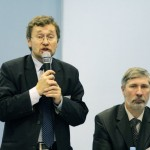 Руководители конференции - Дмитрий Гавра и Алексей Чечулин