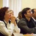 Аудитория во время круглого стола Игоря Минтусова