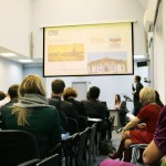 Презентация на пленарной сессии конференции