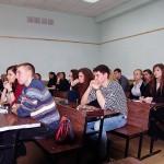 Слушатели лекции Игоря Минтусова в МАТИ - РГГУ
