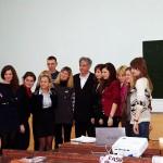 Игорь Минтусов и студенты МАТИ