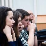 Слушатели лекции Игоря Минтусова в МАТИ - РГТУ