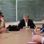 Игорь Минтусов на лекции в ТвГУ