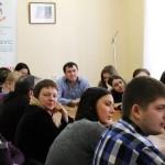 Во время лекции Игоря Минтусова в ТвГУ