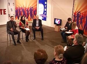 "Андрей Цепелев на ток-шоу ""Бренд Вологды"" на телеканале ТВ-7"