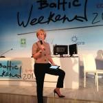 Ток-шоу на Baltic Weekend 2013 провела Марианна Максимовская