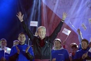 Выступление Сергея Собянина на митинге