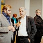 Александр Боев и Игорь Минтусов на открытии Главного штаба