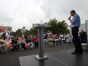 Встреча Алексея Навального с избирателями