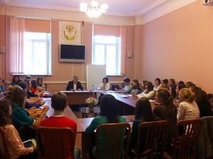 Мгорь Минтусов в Московском государственном лингвистическом университете