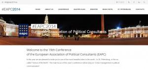 сайт EAPC-2014 http://eapc2014.eu