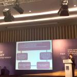 Екатерина Егорова выступает на 20-й конференции EAPC