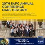 Участники 20-й Ежегодной Конференции EAPC