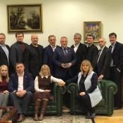Встреча политконсультантов с Э.Памфиловой